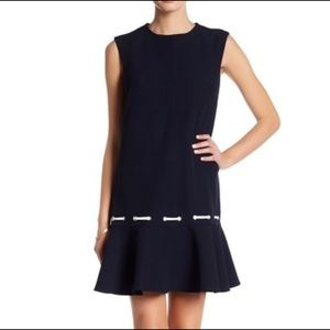 NANETTE Nanette Lapore navy blue sailor dress